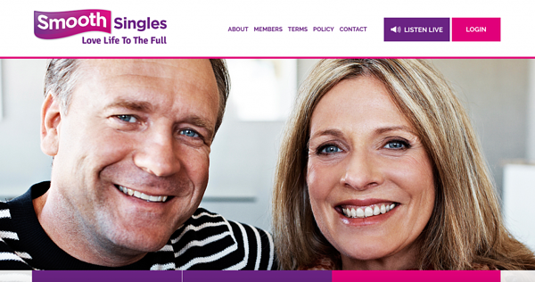 Smooth Singles landing page