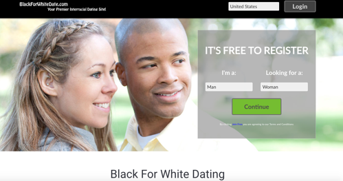 Black for White Dating