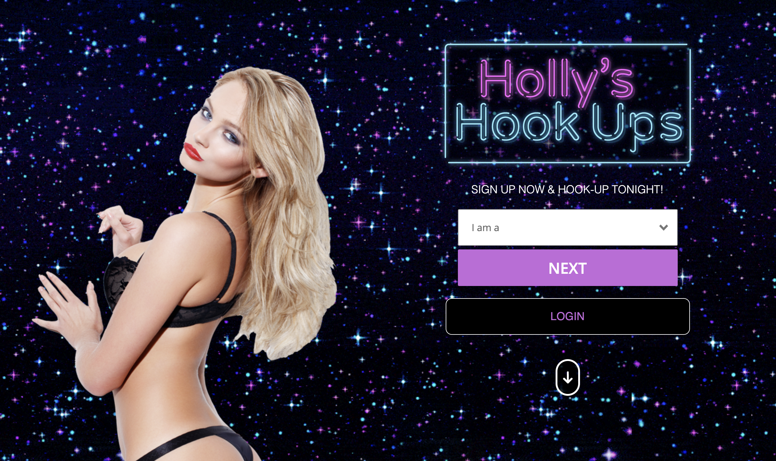 Holly's Hookups Dating Site for Hookups from Geordie Shore Star